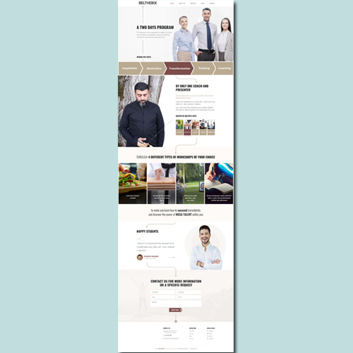 Health care consulting company Website Design