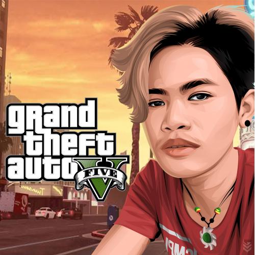 GTA themed artwork