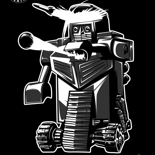 Classic Robot Illustration