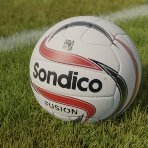 soccer ball 3d visualization
