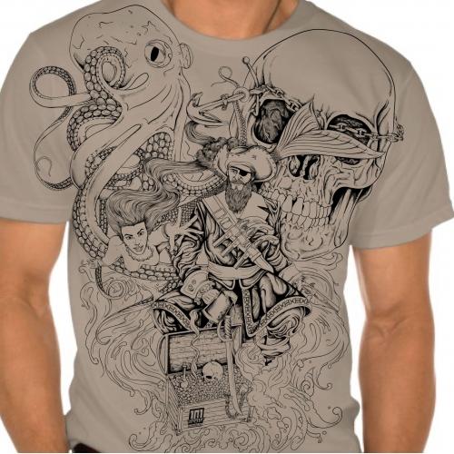 Pirates Tshirt design