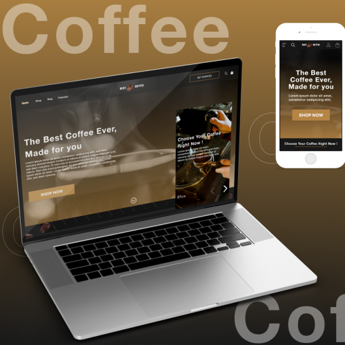 Coffee Product Landing Page