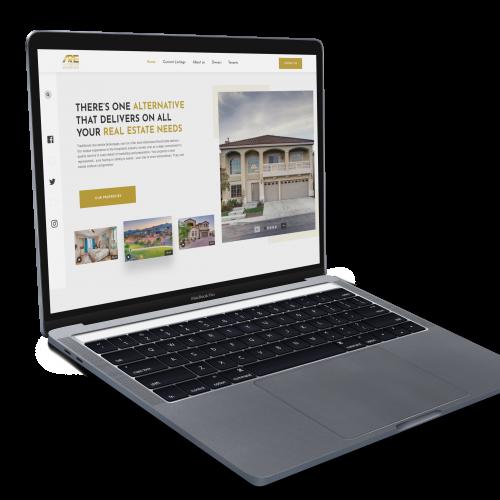 Real Estate website design Design