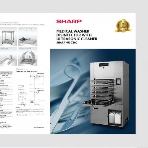 Sharp Health Care equipment brochure