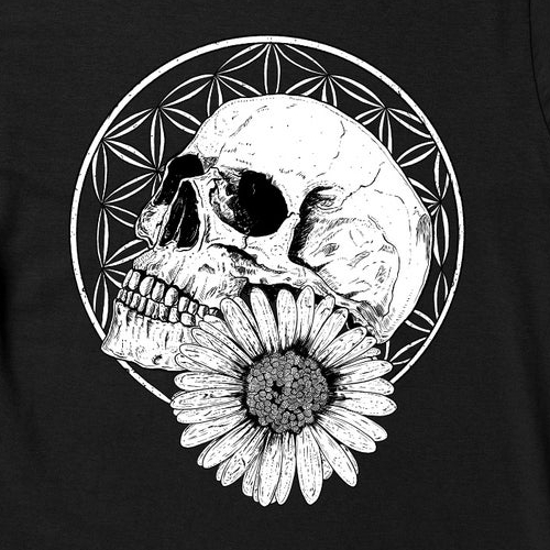 Flower of life - Graphic t-shirt design