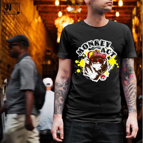 T-shirt : Monkey Act