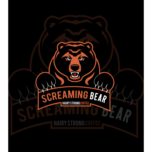 BEAR caffeine organic coffee brand logo