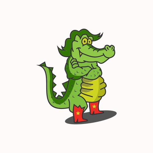 police crocodile