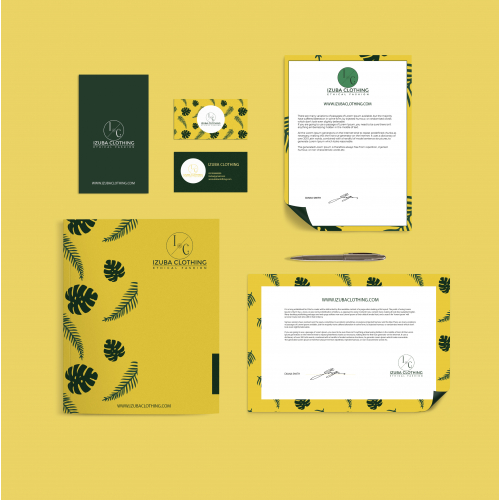 Brand identity for an ethnic fashion company