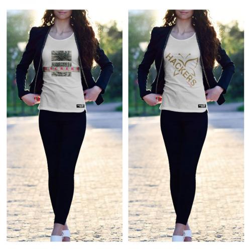 Ladies T-shirt Design