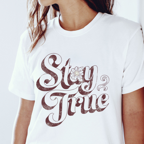 Stay True Graphic Tee