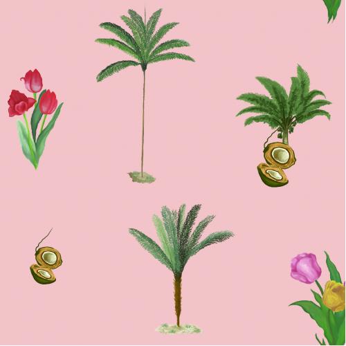 Palm x Tulips