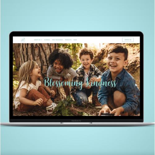 Children Book Website Design