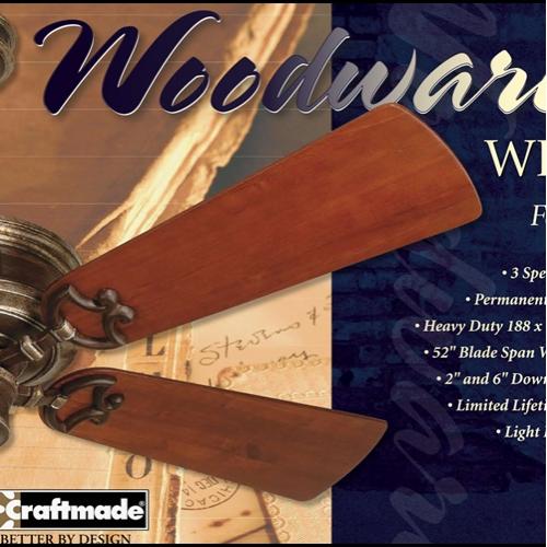 Woodward Craftmade Fan Packaging Design