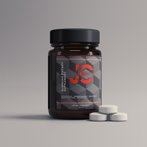 JC Beauty Suplement Packaging Design