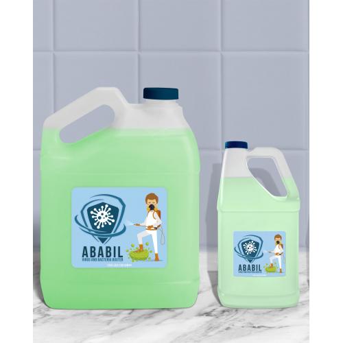 ABABIL LIQUID packaging design