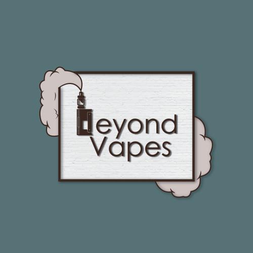 Vape shop logo.