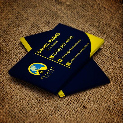 business card design .