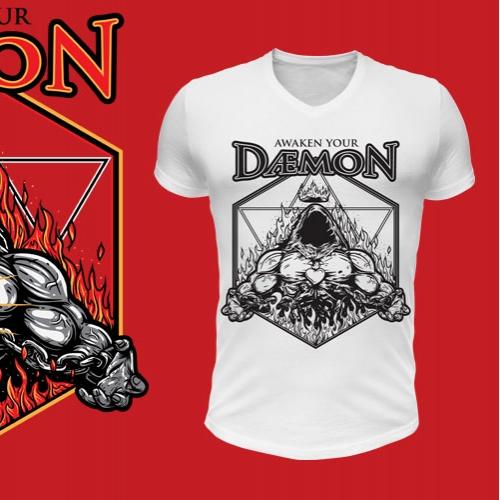 Daemon Tshirt Design
