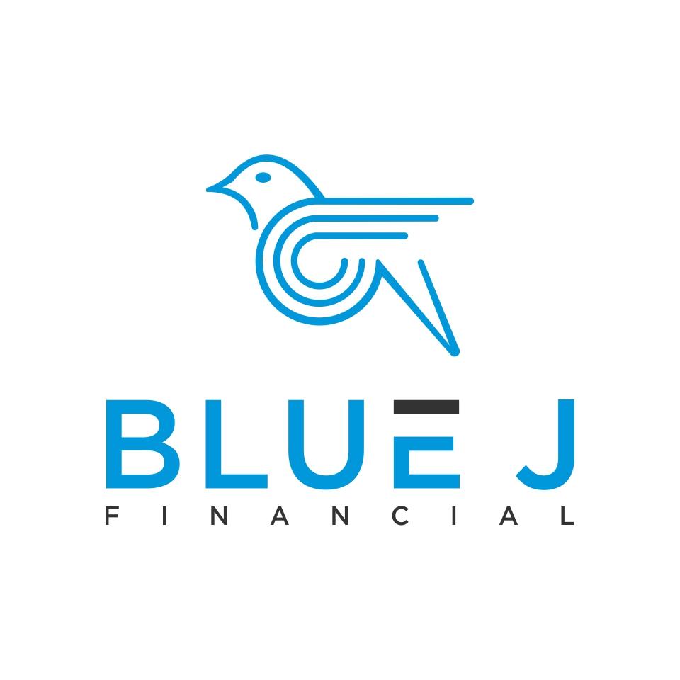 designs logo Blue J