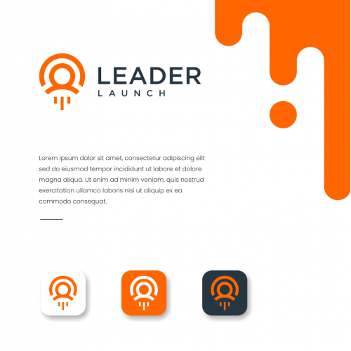 Leader launch logo