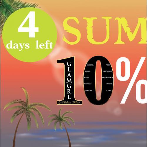 facebook cover Summer sale discount offer