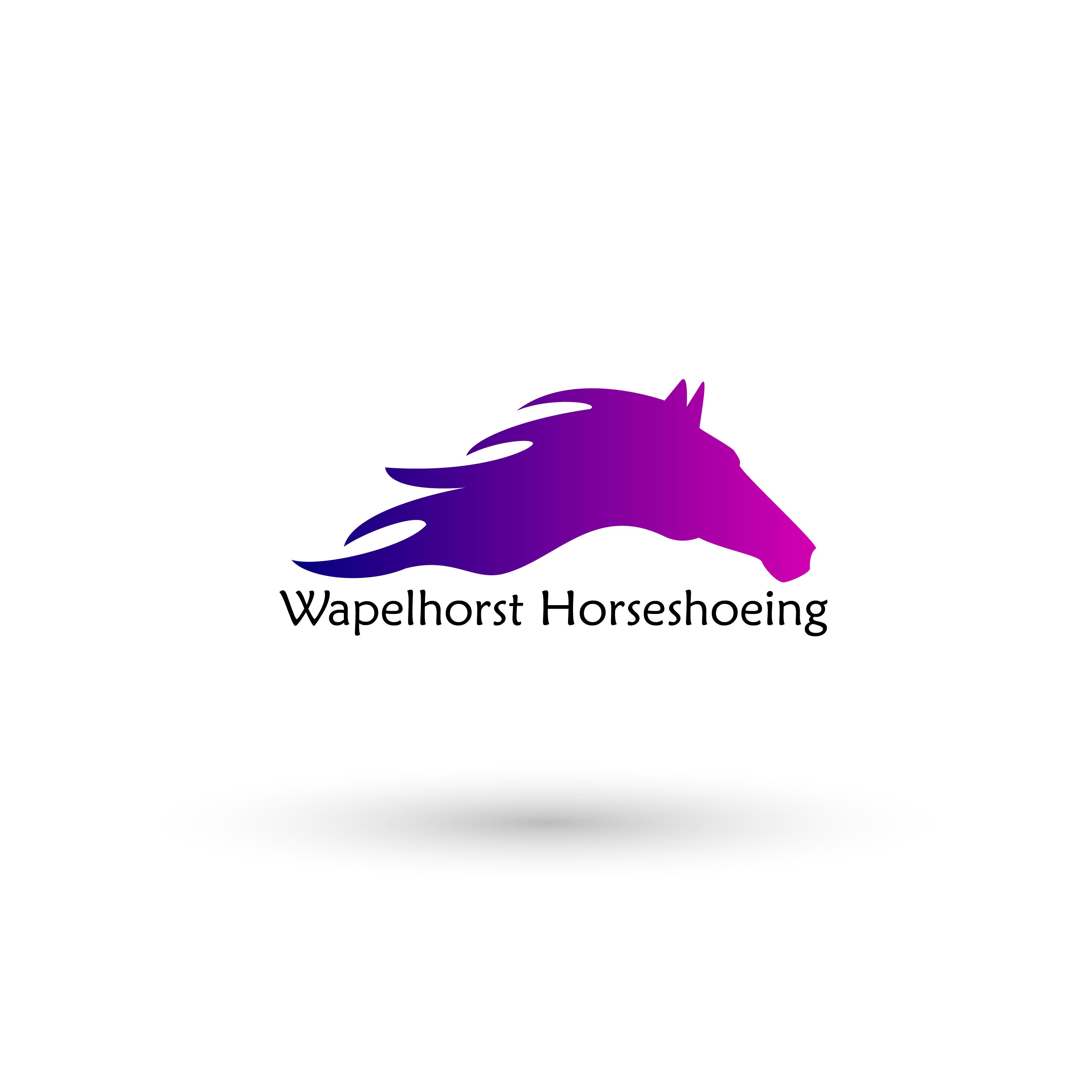 Wapelhorst Horseshoeing logo Design
