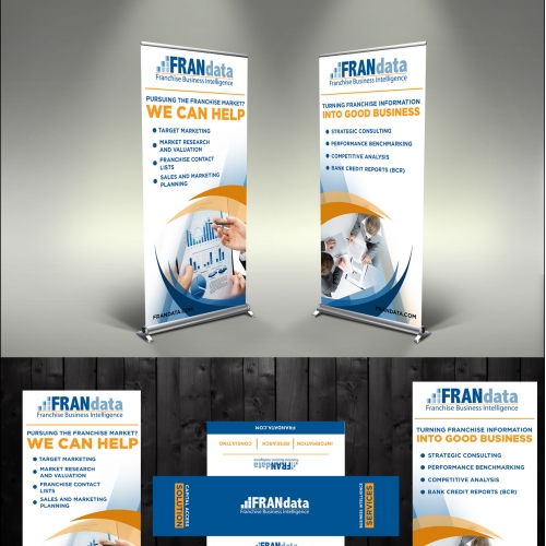Pull-up Banner with a table cloth Design
