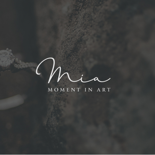 Handwriten logo for Mia
