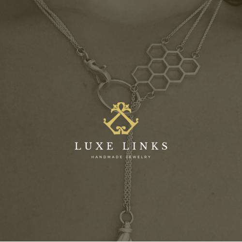 Creative logo design for Luxe Links