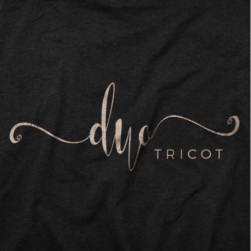 Bold logo concept for DUO TRICOT