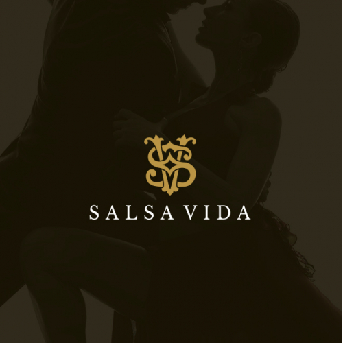 A luxurious logo for Salsa Dancing Lifestyle Brand