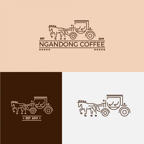 Ngandong coffee Logo design
