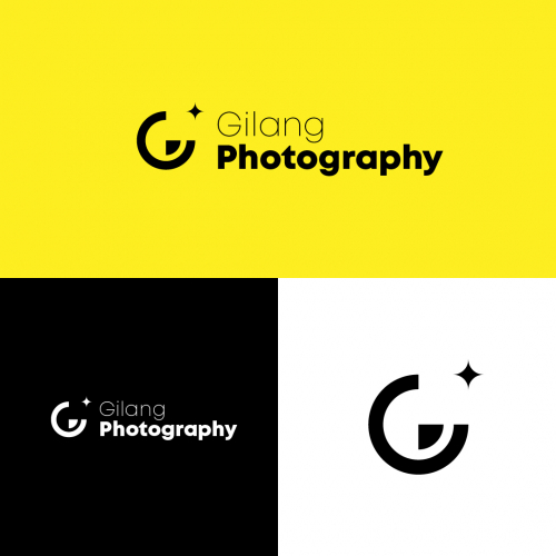 Gilang photography Logo Design