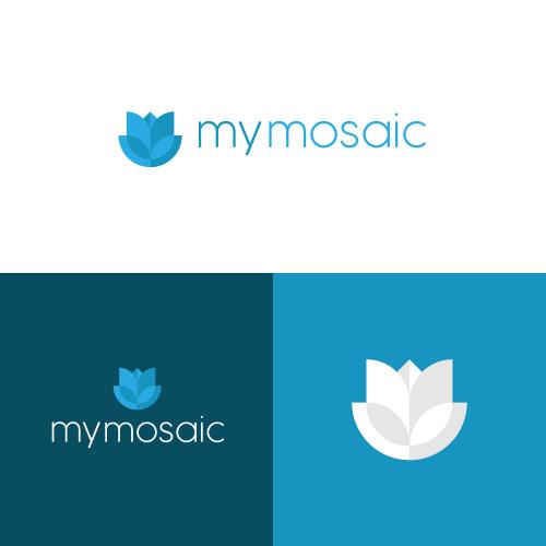 My mosaci Logo design