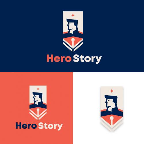 Hero Story Logo design