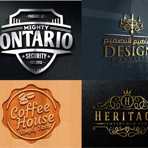 3D logo design service