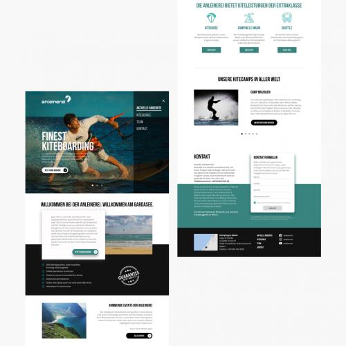 kiteboarding course website