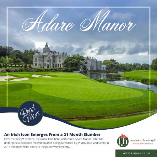 Fairways to Heaven Golf Social Media Ad