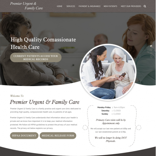 Premier Urgent and family care