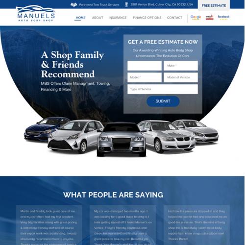 Manuel Auto Body Shop