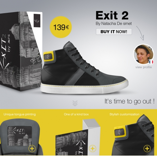 Landingpage Alive Shoes • Italy
