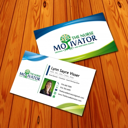 The Nurse Motivator Business Card