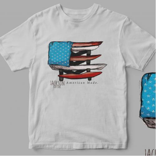Jackson Kayak American flag design
