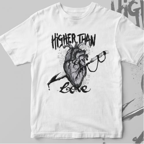 Harpoon Heart Ink Sketch Design