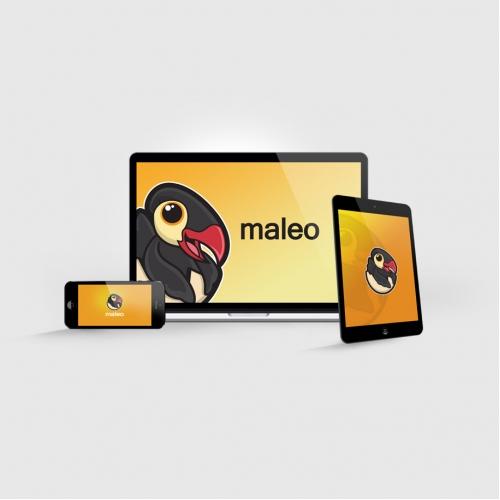 Maleo Games Logo Design