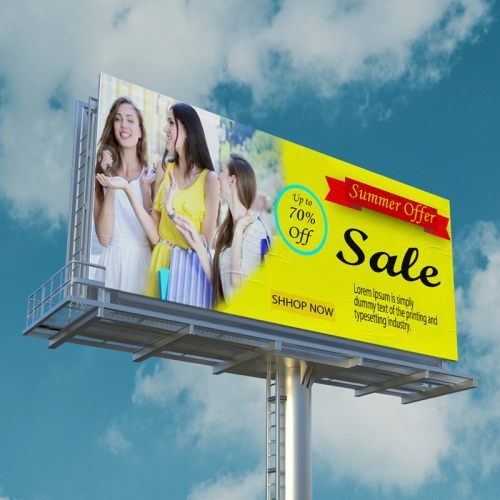 billboard Ad banner design