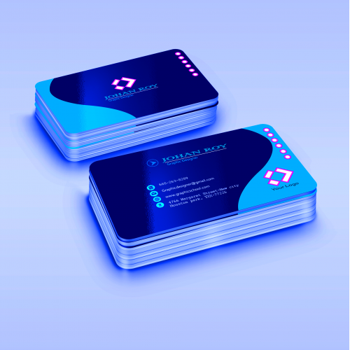 Eye-catching Business card