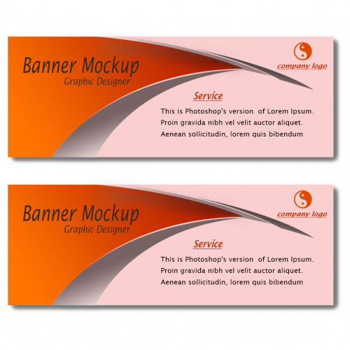 Banner design for business rank