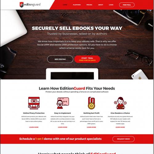 Edition guard web design